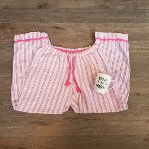 Victoria's Secret Striped Pajama Pants